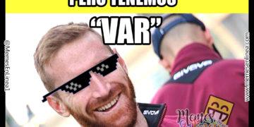 En Venezuela no tendremos gasolina, gas ni luz... Pero tenemos VAR - Memes en linea
