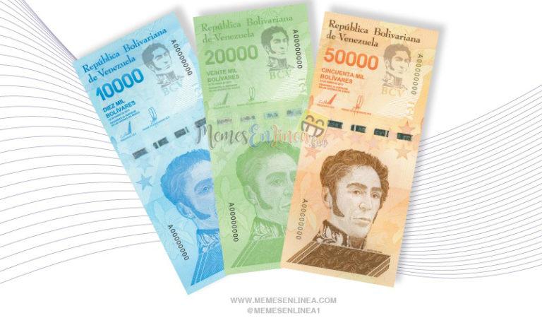 «【Conoce los tres nuevos billetes Venezolanos integrados al cono monetario actual】»